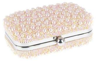 From St. Xavier Marcela Pearl Box Clutch