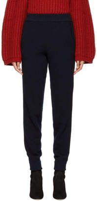 Lanvin Blue Webbing Stripe Lounge Pants