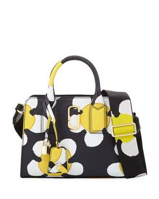 Marc Jacobs Little Big Shot Daisy Saffiano Leather Tote Bag