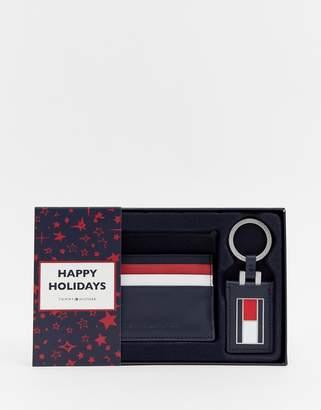 Tommy Hilfiger corporate card holder keyfob gift set