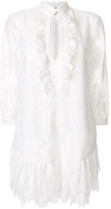 Just Cavalli layered lace dress