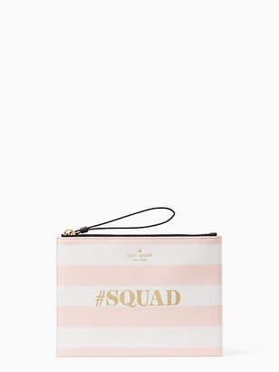 Kate Spade Wedding belles squad medium bella pouch