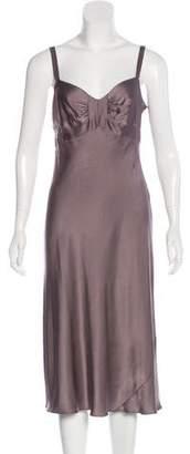 Philosophy di Alberta Ferretti Silk Midi Dress
