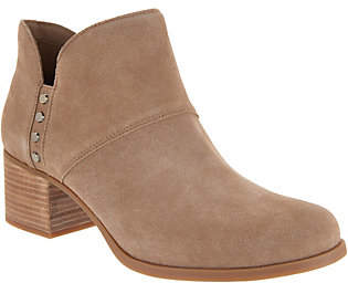 Koolaburra by UGG Suede Studded Ankle Boots- Sofiya