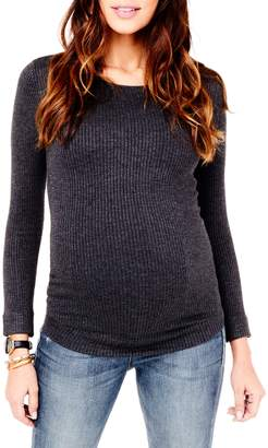 Ingrid & Isabel Ribbed Fitted Sweater