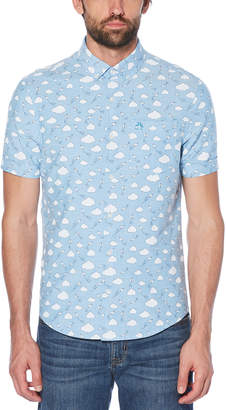 Original Penguin CLOUD PRINT SHIRT