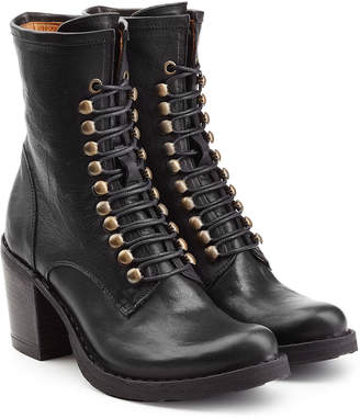 Fiorentini+Baker Leather Lace-Up Boots