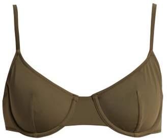 Solid & Striped The Eva Underwired Bikini Top - Womens - Khaki