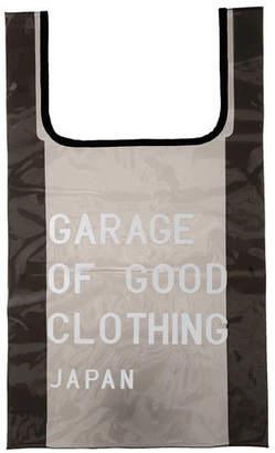 GARAGE OF GOOD CLOTHING クリアーロゴ入りショッピングバッグ