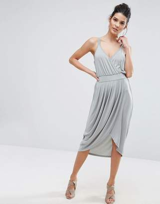 Vero Moda Wrap Front Cami Dress