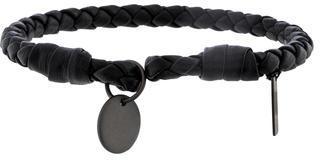 Bottega VenetaBottega Veneta Woven Leather Cuff Bracelet