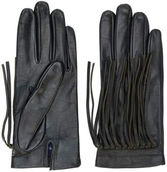 Gala fringed gloves