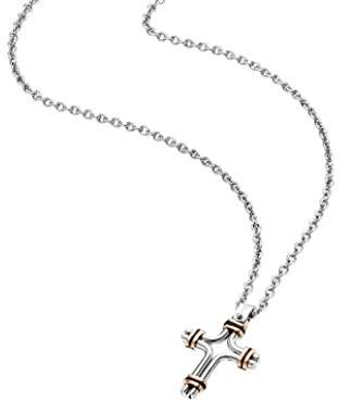 Police Men Stainless Steel Pendant Necklace - PJ26037PSSRG.02