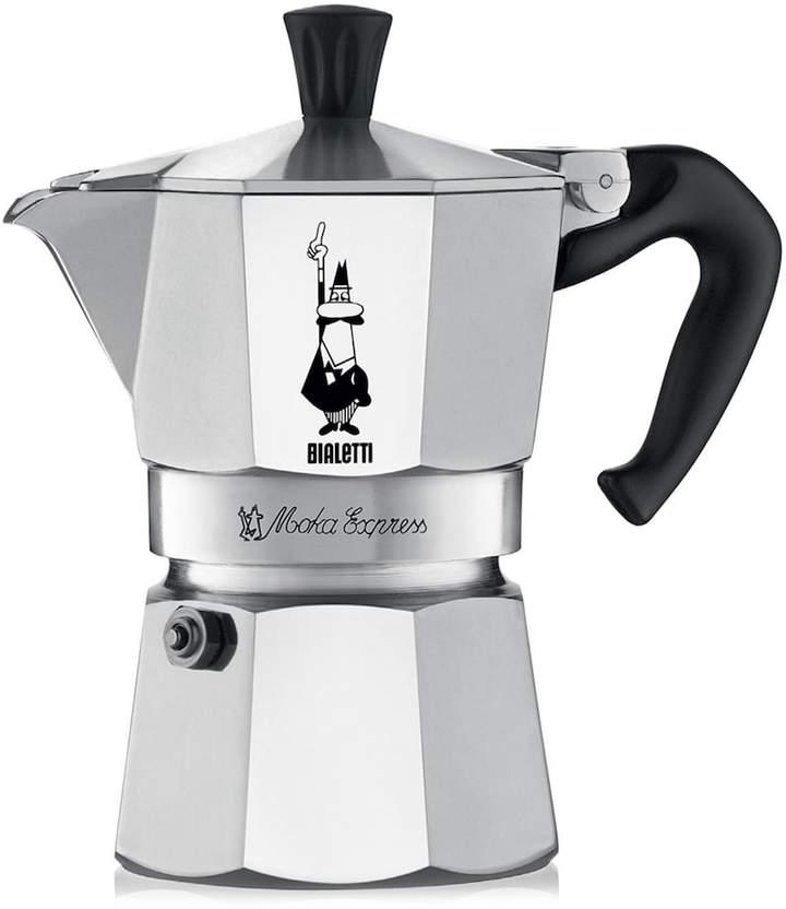 Bialetti Moka Express Stovetop 3-Cup Espresso Maker