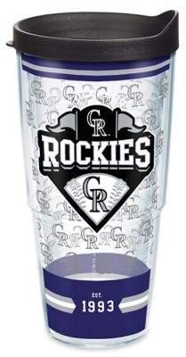 Tervis® MLB Colorado Rockies Classic 24 oz. Wrap Tumbler with Lid