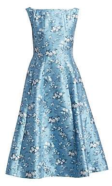 Erdem Women's Kinsey Floral Fit-&-Flare Dress