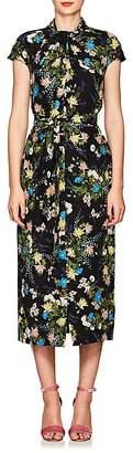 Erdem Women's Finn Floral Silk Cocktail Dress