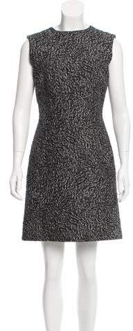 Balenciaga  Balenciaga Jacquard Sheath Dress