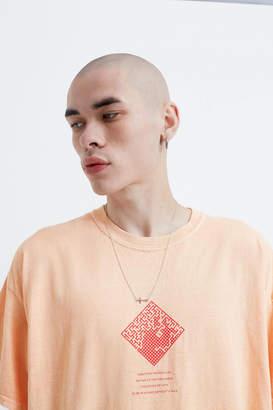 Urban Outfitters Gestures Orange Short-Sleeve Tee