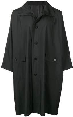 Issey Miyake 132 5. boxy single-breasted coat