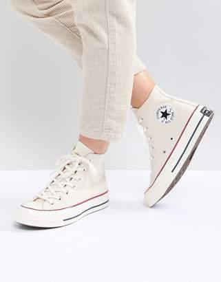 Converse Chuck '70 Hi Sneakers In Cream