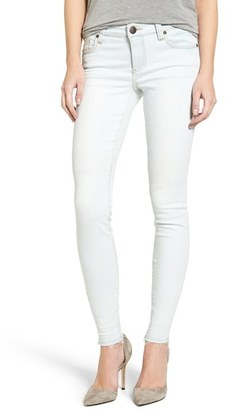 Women's Kut From The Kloth Mia Release Hem Stretch Skinny Jeans $89 thestylecure.com