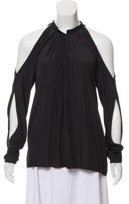 Ramy Brook Long Sleeve Cutout top