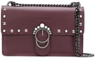 Marc Ellis foldover top embellished shoulder bag