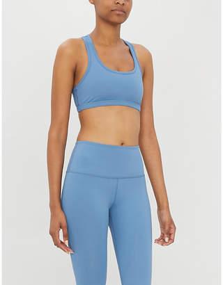 Beyond Yoga Work it Out stretch-jersey sports bra