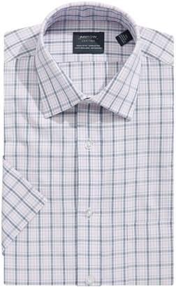 Arrow Short Sleeve Check Button-Down Shirt