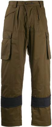 Ziggy Chen cargo pocket trousers