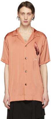Miharayasuhiro Pink Embroidered Shirt