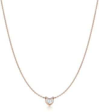 Tiffany & Co. Elsa Peretti® Diamonds by the Yard® heart necklace