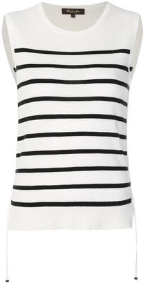 Loro Piana sleeveless striped jumper