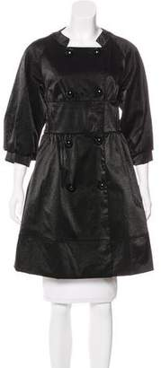 Anna Sui Knee-length Double-Breasted Coat