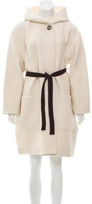 Etoile Isabel Marant Hooded Knee-Length Coat