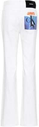 Calvin Klein High-rise straight jeans