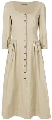 Alberta Ferretti flared shirt dress