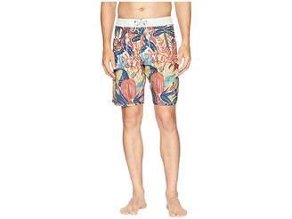 VISSLA Tropical Maui Four-Way Stretch Boardshorts 20 Men's Swimwear
