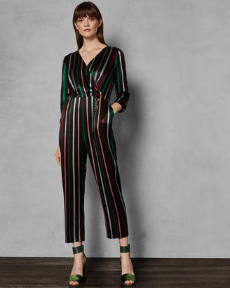 Ted Baker SILEZA Striped jumpsuit