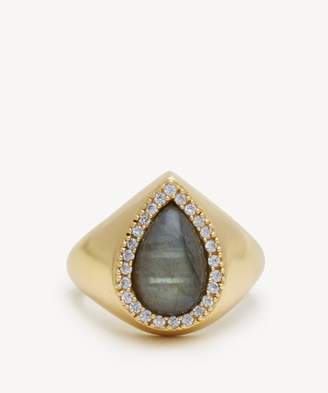 Sole Society Statement Stone Ring