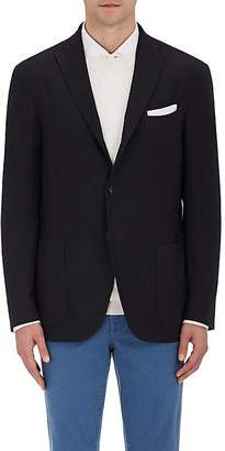 Boglioli Men's Wool Hopsack Three-Button Sportcoat