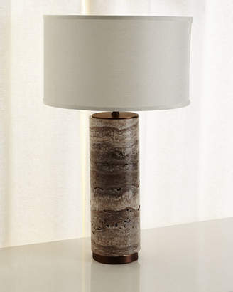 John-Richard Collection Marble Column Table Lamp