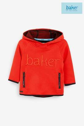 Ted Baker Boys Orange Logo Hoody - Orange