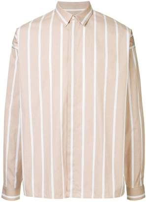 Jil Sander chalk stripe shirt