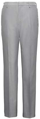 Banana Republic Athletic Tapered Non-Iron Stretch Cotton Texture Pant