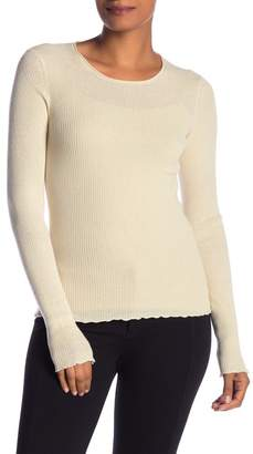 Vince Ribbed Cashmere Crew Neck Sweater