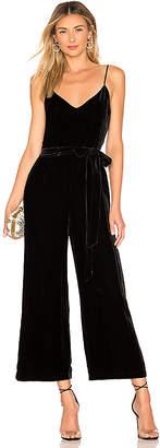 561079bc139 L Agence Jaelyn Velvet Camisole Jumpsuit