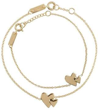 Lennebelle Petits Our Hearts Beat As One Giftset - Gold-Plated