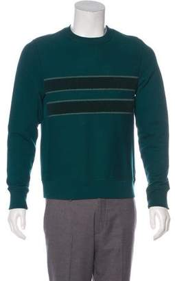 Paul Smith Striped Scoop Neck Sweatshirt